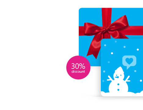 30% off Skype Gift Cards