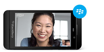 BlackBerry  Skype
