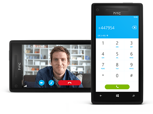 Skype voor Windows Phone