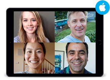 Skype para iPad