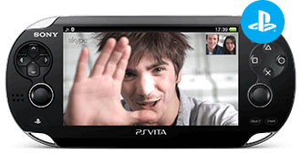 Skypen PlayStation®Vita-versio