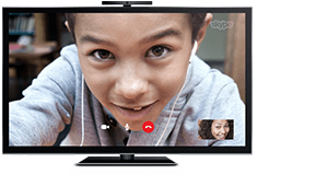 Skype-ready TVs