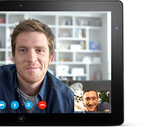 Skype for tablet