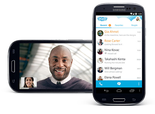 Skype voor Android