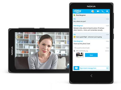 Skype for Nokia X