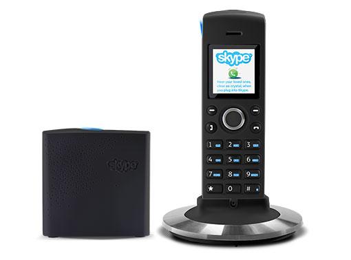 Teléfonos con Skype