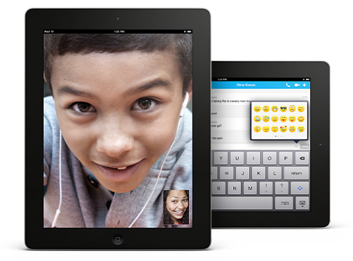 Skype iPadile