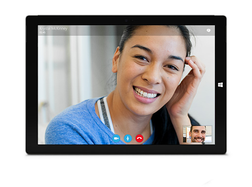 Skype for modern Windows