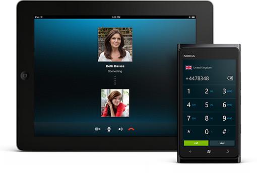 Skype number