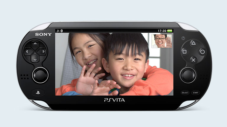 PlayStation Vita 專用 Skype