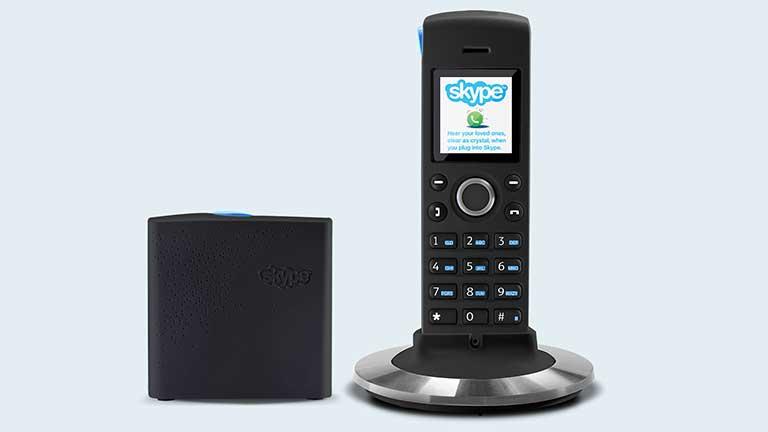 Telefony s podporou produktů Skype