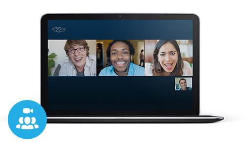 Get together on a group video call
