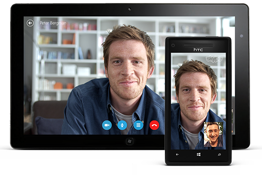 Same Skype. More screens.