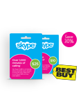 Save 30% on Skype cards you purchase at Best Buy stores