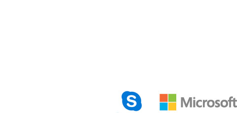Skype e Microsoft esto sonhando alto