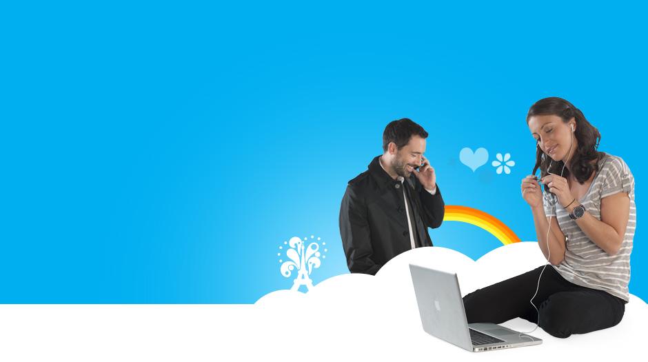 Два вектора мобильные телефоны с дисплеем синего в белый и черный цвета