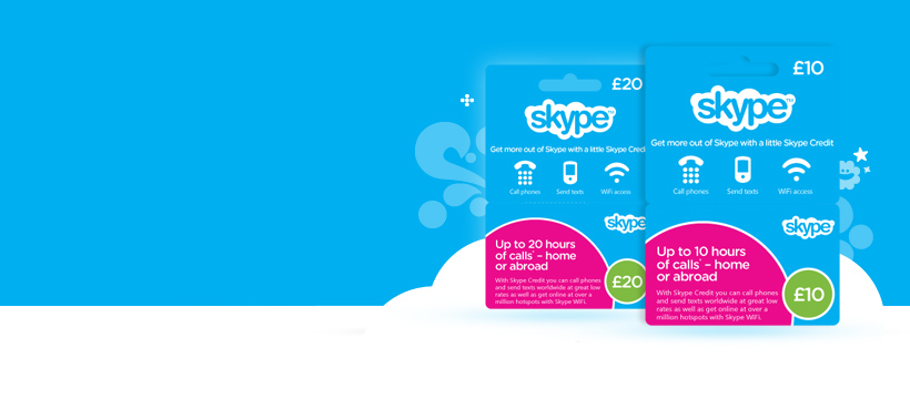 Use the current Skype promo code for 30% off gift cards to top up on the cheap