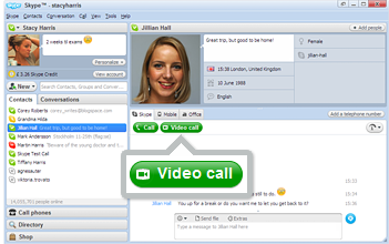 Video Call Button
