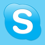 Skype Home page for Skype