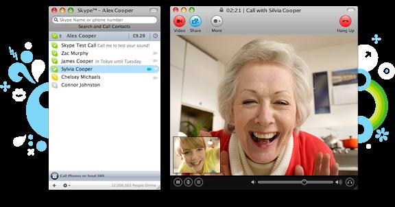 Skype 5.0 for Mac